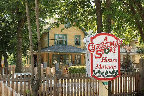 A Christmas Story House in Cleveland, OH