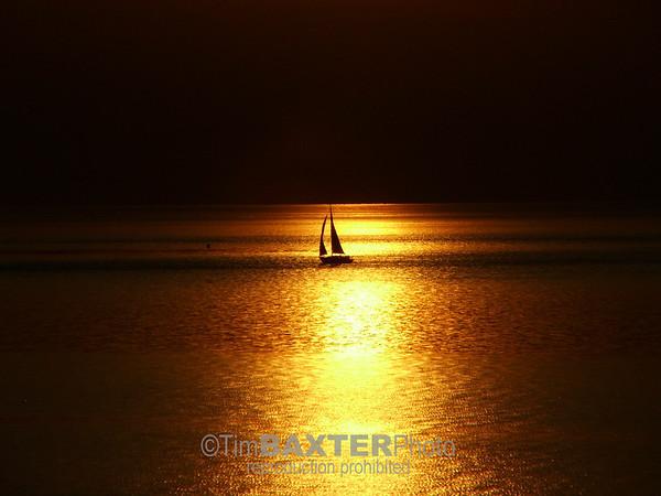 Sailboat on Lake Ontario